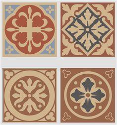 classic victorian tiles design art tile designs i57 art