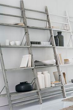 Leaning Shelf & Display