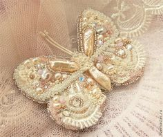 Beaded jewelry by Yeghia Straujuma. Butterfly brooches. Talk to LiveInternet - Russian Service Online Diaries
