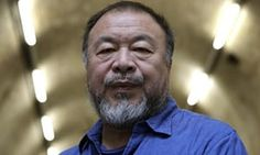 Ai Weiwei, one of 40 artists showing how war affects combatants and civilians.