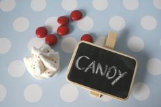 LOVE these mini chalkboard clips now avail in store {www.montresor.com.au}