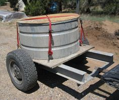 How to Make a Papercrete Mixer... interesting, but I think something that could remain stationary might be more effective. Maybe hooked to a pto on a tractor..... Wouldn't want to have to drive around all day to blend it....Any ideas?