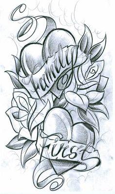 Tipografia flores nueva escuela familia
