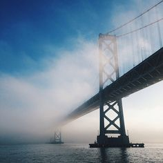 San Francisco - oakland bay bridge @huckberry