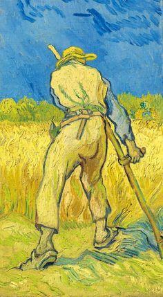 Le moissonneur (d'après Millet) (1889), Vincent Van Gogh. Christie's London: estimate £12.5m–£16.5m