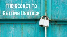 The Secret to Getting Unstuck - http://feedproxy.google.com/~r/ducttapemarketing/nRUD/~3/vMOGj5N2nGc?utm_source=rss&utm_medium=Friendly Connect&utm_campaign=RSS @ducttape #marketing