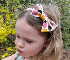 Sutton Grace: fabric bow tutorial