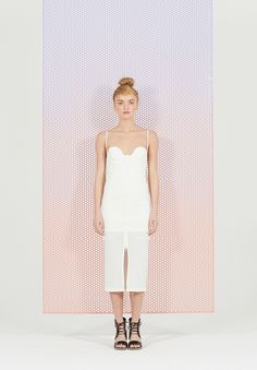 ALICE MCCALL: BETWEEN THE SHADOW AND THE SOUL // #white #dress #bridesmaids #inspiration