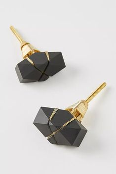 Minnie Knobs, Set of 2 by Anthropologie in Black, Knobs Knobs And Handles, Cabinet Handles, Pull Handles, Cabinet Hardware, Isle Of Man, Malta, Dresser Drawer Knobs, Drawer Pulls, Anthropologie Uk