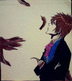 Anime: Bleach. Personagem: Ichigo. Desenho.