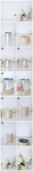 Best out of waste.Handmade flower pot- posted by: weeblyinfo