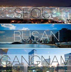 Los bellos horizontes de Corea