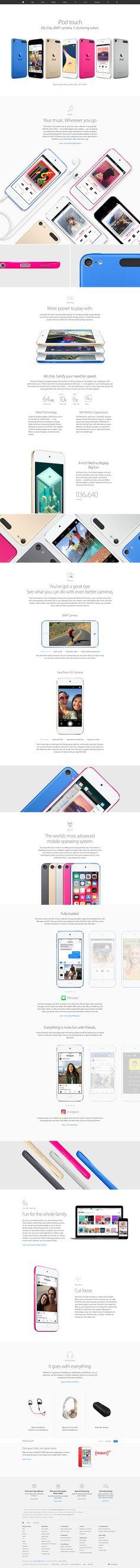 Apple Commercial, Ipod Touch, Desktop Screenshot