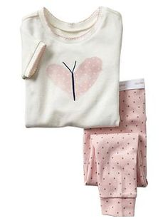 Heart butterfly sleep set | Gap