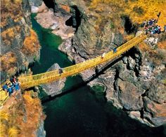 El puente colgante de fibra vegetal realizado por los Incas | yalosabes