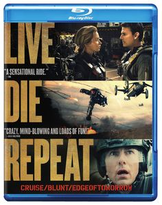 Live Die Repeat: Edge of Tomorrow Bluray Zach