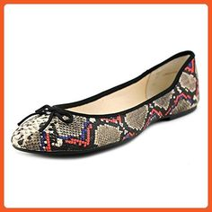 INC International Concepts Mikayla Women Multi Color Flats, Wild Snake, Size 9.0 - Flats for women (*Amazon Partner-Link)