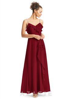 Azazie Kendra Bridesmaid Dress - Cabernet  489caf25e