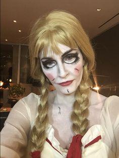 evil doll face makeup - Google Search Disfraces 9009b3648dee