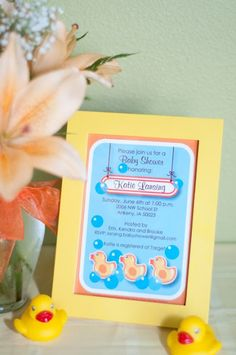 Bella Grace Party Designs: Real Parties: Ducky Shower