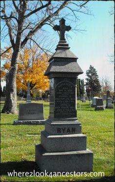 Wednesday's Child: The Ryan Children #genealogy