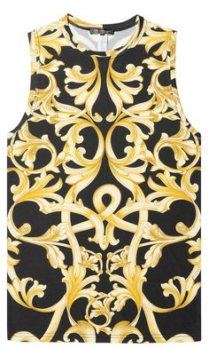 Versace Débardeur à imprimé Barocco 221 EUR.