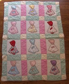 Vintage Quilt Patterns | PDF baby quilt PATTERN vintage 1930s reproduction by NauvooQuiltCo