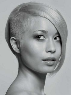 Amazing 36 Sexy And Hot Half Shaved Hairstyles Sexy Shaved Bob And Side Short Hairstyles For Black Women Fulllsitofus