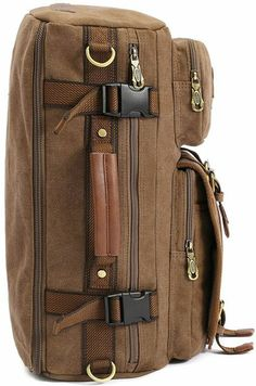 Amazon.com: Zenness Super Cool Canvas Backpack Crossbody Bag Handbag Travel Rucksack: Clothing