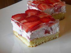 Epres joghurtos sütemény Baby Food Recipes, Sweet Recipes, Cookie Recipes, Sweets Cake, Cupcake Cakes, Eastern European Recipes, Hungarian Recipes, Cookbook Recipes, Sweet Desserts