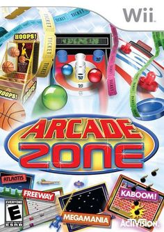 Arcade Zone features all of your favourite arcade and retro games and more! Score big, earn tickets, exchange for gifts, and keep playing. Wii U Games, Arcade Games, Mario Party 9, Wii Accessories, Wii Sports, Plus Games, Retro Video Games, Retro Games, Gamers