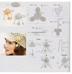 Crocheted flowers - Indre Adomyniene - Picasa Web Album