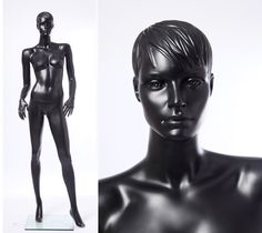 Eurotondisplay CS15-8 abstract matte black Mannequin female 2015