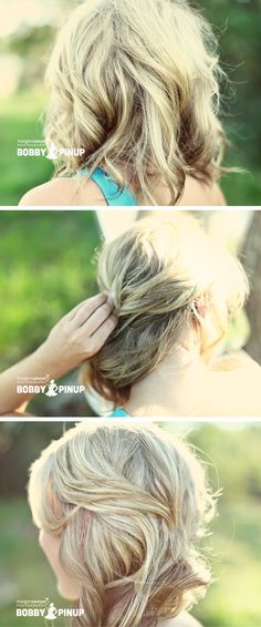 bobbypinup.com - tutorial website on how to do different bobby pin hairstyles.