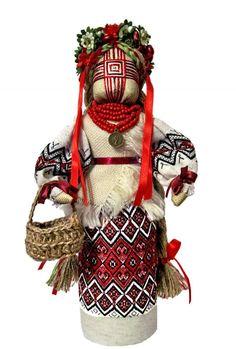 Tatiana Belokrylets - Author' s Doll-motanka Anna
