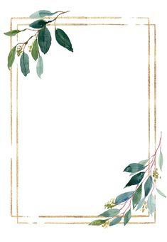 Floral Wallpaper Phone, Flower Background Wallpaper, Flower Backgrounds, Frame Background, Wedding Background Images, Wedding Invitation Background, Wedding Invitation Templates, Gold Wedding Invitations, Cadre Design