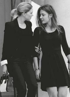 """Lea Seydoux"""" & Adele Exarchopoulos...."""