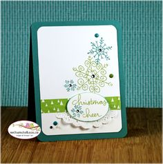 Stampin Up Endless Wishes, card by Sandi @ www.stampingwithsandi.com