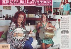 #BethCarvalho Revista Caras 2013
