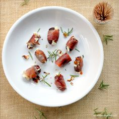 Parma Wrapped Dates and Goat Cheese #passtheprosciutto