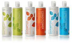 Acure shampoo and conditioner with argan stem cells. Each product is cruelty-free, color safe, vegan, and free of parabens, sulfates, sodium chloride, and phthalates, and gluten. My fave is the Triple Moisture Repairing For Normal to Dry/Damaged/Curly Hair (The orange one). It has an amazing almond scent and keeps hair soft, manageable, and ready to rock.