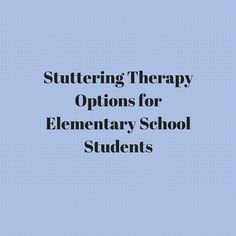 "Does anyone else feel like they're totally lost on how to do speech therapy for elementary-aged students who stutter?  I know I do!  Ok so you may be thinking, ""Why is Carrie writing an article on stuttering therapy if she has no idea what to do with stutterers?""  Well, fortunately for you, one of my super"