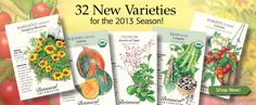 Botanical Interests Seeds: Beautiful website, wonderful selection of heirloom vegetable, flower, and herb seeds!