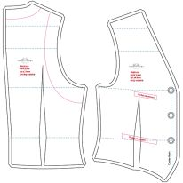 pattern sewing jacket man Source by delpbro Mens Vest Pattern, Blazer Pattern, Jacket Pattern, Boys Sewing Patterns, Clothing Patterns, Sewing Pants, Sewing Clothes, Men's Waistcoat, Modelista