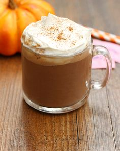 Pumpkin Spice Hot Chocolate  made with Sweet'N Low®