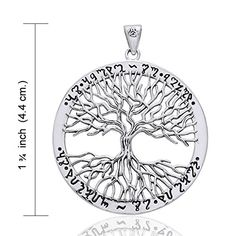Wiccan Twisted Tree of Life Amulet Sterling Silver Pendant *** You can get more details by clicking on the image.(This is an Amazon affiliate link and I receive a commission for the sales)
