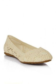 crochet ballet flats - just ordered these :-) Can't wait