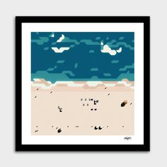 «Miami beach», Limited Edition Fine Art Print by antony squizzato - From $29.00 - Curioos