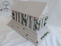 Une réception de mariage sous le thème de la Grèce