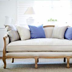 Cabriole Sofa - Interior Design Ideas